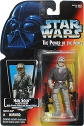 Picture of Star Wars Han Solo (Hoth Gear) Power of the Force Action Figure