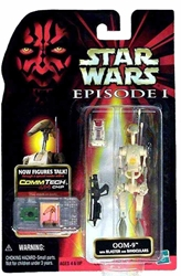 Picture of Star Wars OOM-9 Episode I Commtech Chip Action Figure