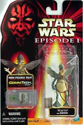 Picture of Star Wars Episode I Commtech Chip Watto Action Figure
