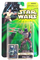 Picture of Star Wars Jango Fett Attack of the Clone Sneak Preview Action Figure