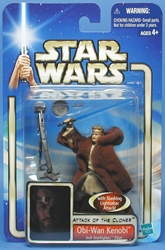 Picture of Star Wars Obi-Wan Kenobi (Jedi Starfighter Pilot) Attack of the Clones '02 #36 Action Figure