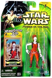 Picture of Star Wars Aurra Sing Force File Power of the Jedi Action Figure