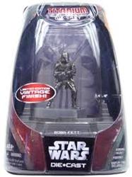 Picture of Star Wars Titanium Series Boba Fett Die-Cast Figure