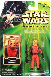 Picture of Star Wars Zutton Power of the Jedi Action Figure