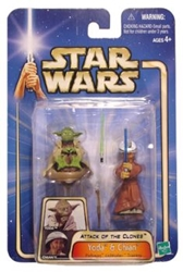 Picture of Star Wars Saga Yoda and Chian #15 Action Figure