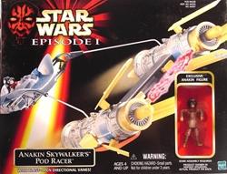 Picture of Star Wars Anakin Skywalker's Pod Racer Phantom Menace Vehicle