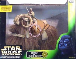 Picture of Star Wars Bantha and Tusken Raider Power of the Force Action Figure
