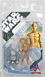 Picture of Star Wars 30th Anniversary McQuarrie Concept R2-D2 and C-3PO Action Figure
