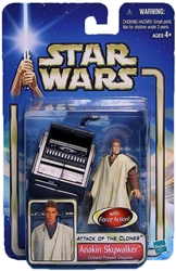 Picture of Star Wars Anakin Skywalker Outland Peasant Disguise Attack of the Clones Action Figure