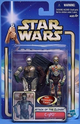 Picture of Star Wars C-3PO Protocol Droid #04 Attack of the Clones Action Figure
