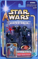 Picture of Star Wars Attack of the Clones Super Battle Droid #06 Action Figure