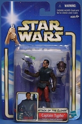 Picture of Star Wars Attack of the Clones Captain Typho #09 Action Figure
