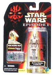 Picture of Star Wars Episode I Battle Droid Commtech Chip Action Figure