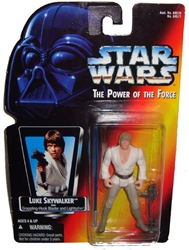 Picture of Star Wars Power of the Force Luke Skywalker Action Figure
