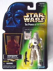 Picture of Star Wars Power of the Force Snowtrooper Action Figure