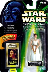 Picture of Star Wars Leia in Ceremonial Dress Power of the Force Flashback Photo Action Figure