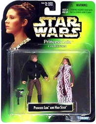 Picture of Star Wars Princess Leia and Han Solo Princess Leia Collection Action Figure 2-Pack