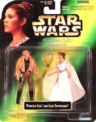 Picture of Star Wars Princess Leia and Luke Skywalker Princess Leia Collection Action Figure 2-Pack