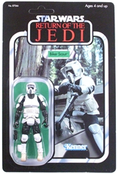 Picture of Star Wars Vintage Saga Collection Biker Scout Action Figure