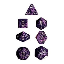 Picture of Dice Set Hurricane Speckled Polyhedral 7-Dice Set