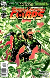 Picture of Green Lantern Corps (2006) #58