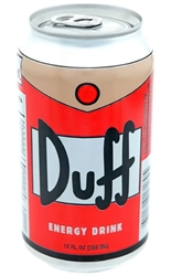 Picture of Simpsons Duff Beer Can Energy Drink