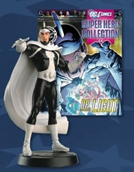 Picture of DC Superhero Figurine Collection Magazine #44 Dr. Light