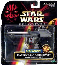 Picture of Star Wars Electronic Flash Cannon Accessory Set Episode I