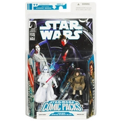 Picture of Star Wars Darth Vader and Princess Leia Comic Pack #11