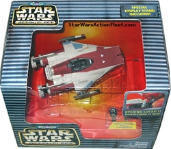 Picture of Star Wars A-Wing Starfighter Action Fleet Micro Machines Figure