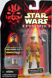 Picture of Star Wars Episode I Commtech Chip Naboo Royal Security Action Figure