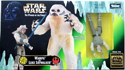 Picture of Star Wars Power of the Force Wampa and Luke Skywalker Action Figure Set