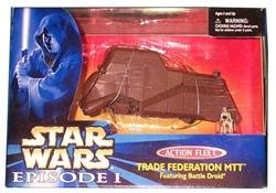 Picture of Star Wars Phantom Menace Trade Federation MTT Action Fleet Figure