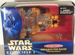 Picture of Star Wars Phantom Menace Sebulba's Pod Racer Action Fleet Figure