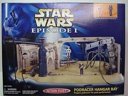 Picture of Star Wars Phantom Menace Pod Racer Hangar Action Fleet Figure Set