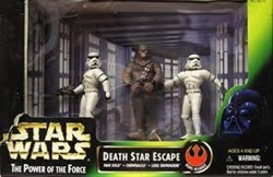 Picture of Star Wars Death Star Escape Power of the Force Cinema Scene Action Figure Set