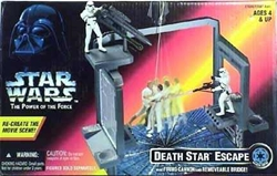 Picture of Star Wars Death Star Escape Power of the Force Action Set