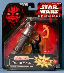 Picture of Star Wars Episode I Darth Maul Deluxe Action Figure