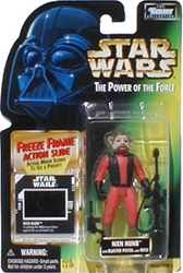 Picture of Star Wars Power of the Force Freeze Frame Nien Nunb Action Figure