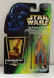 Picture of Star Wars Power of the Force Saelt-Marae (Yak Face) Action Figure