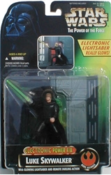 Picture of Star Wars Luke Skywalker Electronic Power FX Power of the Force Action Figure