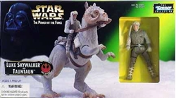 Picture of Star Wars Luke Skywalker and Tauntaun Power of the Force