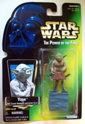 Picture of Star Wars Power of the Force Yoda Action Figure
