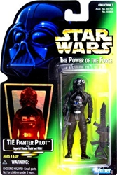 Picture of Star Wars Power of the Force TIE Fighter Pilot Action Figure