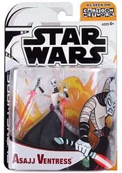 Picture of Star Wars Asajj Ventress Clone Wars Action Figure