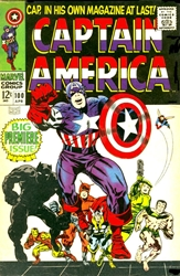 Picture of Captain America #100 Magnet