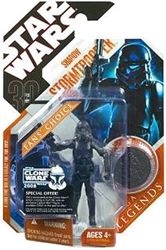 Picture of Star Wars 30th Anniversary Saga Legends Shadow Stormtrooper Action Figure