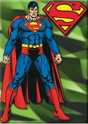 Picture of Superman Standing Magnet