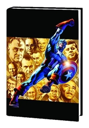 Picture of Captain America Man Out of Time Premiere HC
