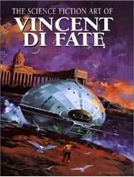 Picture of Science Fiction Art of Vincent Di Fate Hc